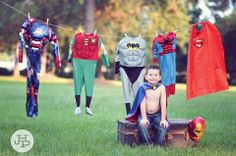 superhero, birthday photography by J.Haltam Photography