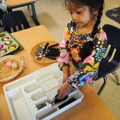 #Montessori  #Practical Life #Education