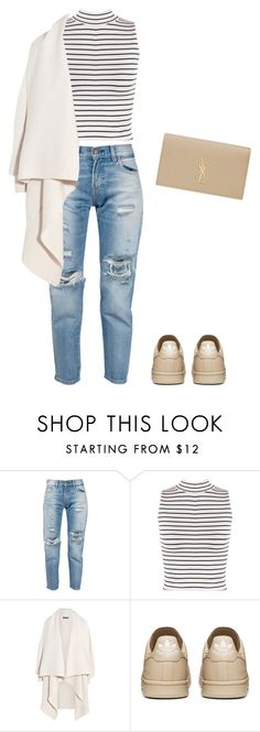 """""""Untitled #197"""" by doda-laban on Polyvore featuring Levi's, WearAll, Alexander McQueen and Yves Saint Laurent"""