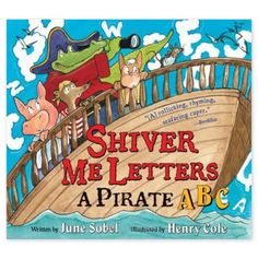 Shiver Me Letters: A Pirate ABC - $3.00 Book Blowout - Events