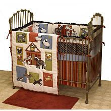 Farm Animal Nursery Baby Animals Ideas Crib Blanket
