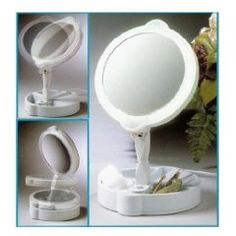Mirror with lights, Vanities and Mirror on Pinterest
