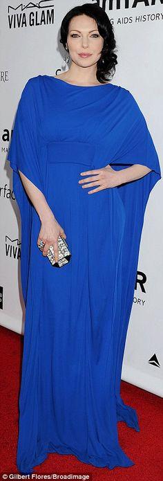 Laura Prepon + gown