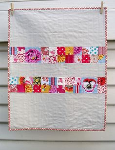 Baby Quilt - Red Pepper Quilts