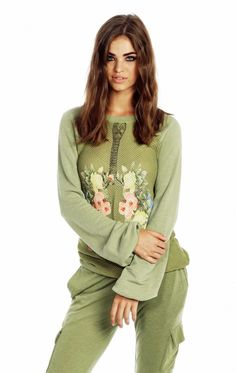 Wildfox Couture Breathe Warm Up Sweater