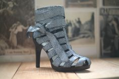 Tuleste Market cage heel with awesome adjustable ankle strap! 2 pairs left! sizes 6, 10