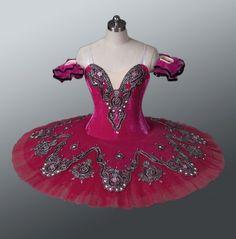 Beautiful Burgundy Professional Classical Ballet Tutu Dance Costume Dancewear | eBay