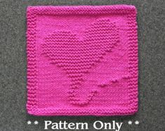 Knitting Pattern Butterfly Dishcloth : 1000+ images about crochet/knitting on Pinterest Knit ...