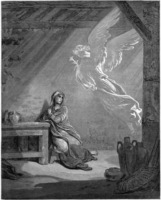 Gabriel appears to Mary and foretells the birth of Jesus I