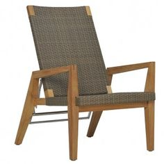 QUINTA TEAK & WOVEN ADJUSTABLE LOUNGE CHAIR