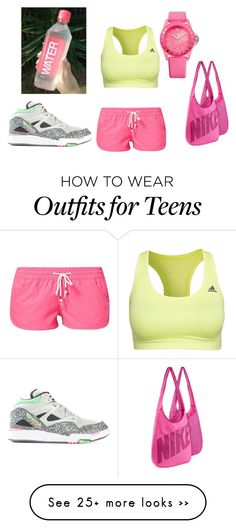 """""""running"""" by sondoskhaled on Polyvore featuring Rusty, Reebok, Juicy Couture and NIKE"""