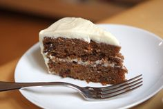 Carrot Cake with Cream Cheese Frosting. One or double layer cake. Classic Carrot Cake Recipe, Best Carrot Cake, Cake With Cream Cheese, Cream Cheese Frosting, Sweets Cake, Cupcake Cakes, Cupcakes, Flan, Cake Recipes