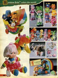 Colora il mondo con Iridella Rainbow Brite