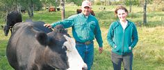 Jeremy and Kerry Pilkey love the wooded, rolling land they farm on the edge of Riding Mountain National Park, in Manitoba, where they raise Black Angus purebreds and commercial cattle.