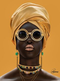 Tagged with art, fashion, african; New Art I Finished Today Black Girl Art, Black Women Art, Black Girl Magic, Art Girl, Black Art, Photographie Portrait Inspiration, Black Girl Aesthetic, Aesthetic Art, Afro Art