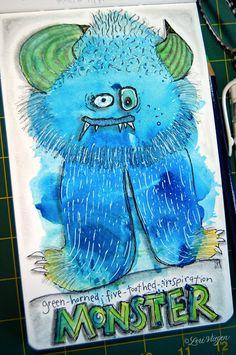 elvie studio: inspiration monday : really fun watercolor tutorial from lori vliegen