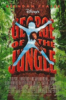 Remember when they showed cartoons before the movie? Brendan Fraser is George, a Tarzan man, who goes ape when a woman comes to the jungle (Leslie Mann).