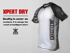 Xpert Dry by Kraken, www.krakenwear.com #mma #workout #training #sportswear #bjj #crossfit #fitness #jiujitsu #clothing