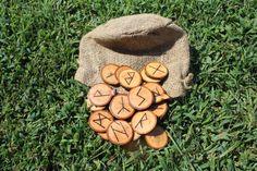 Hickory Rune Set by FairyFresh on Etsy, $25.00
