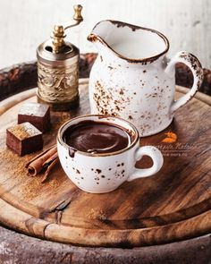 Горячий шоколад 2 by Natalia Lisovskaya || more hot chocolate here ||
