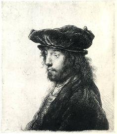 Rembrandt etching