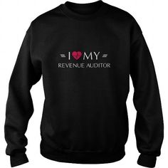 Awesome Tee I Love My Revenue Auditor T-Shirts #tee #tshirt #Job #ZodiacTshirt #Profession #Career #auditor