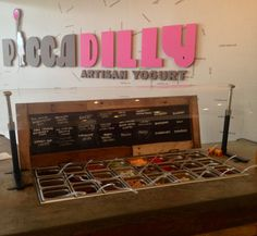 Near Cleveland, OH? Check out Piccadilly Artisan Yogurt for awesome #organic frozen yogurt.