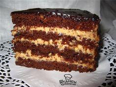 ИНГРЕДИЕНТЫ:  Для бисквита: ● молоко 280 мл ● мука 260 гр. ● сахар 300 гр. ● какао-порошок 5 с...