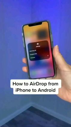 How to AirDrop from iPhone to Android - Quick Guide