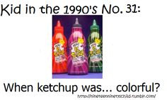 You know you were a kid in the 1990's if...