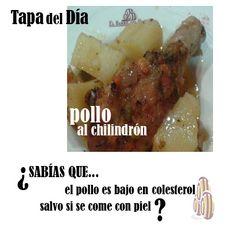 El #pollo es bajo en #colesterol excepto cuando...