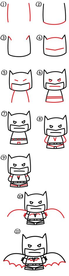 We've drawn Batman a couple times before, but they were both challenging. We've learned how to draw comic book Batman and how to draw Lego Batman. This how to draw cartoon Batman is meant for our younger art friends. Grab your markers, paper, and colored pencils! Remember, if we go to fast and you need …