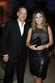 Tom Hanks and Rita Wilson at Hammer Museum's 10th Annual Gala