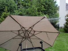 DIY By Design: How To Clean Your Patio Umbrella