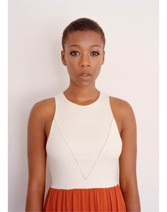 Samira Wiley for Brooklyn Magazine: Vaunt&Sol dress. Can we just stop and admire her for a second?