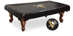Billiard Table Cover 9' - Pittsburgh Penguins