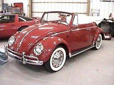 Convertible Volkswagen Beetle - This car looks like too much fun!