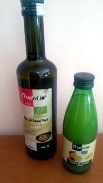 Ad oggi sotto il marchio Crudolio vengono confezionati 15 tipi di oli di diverse provenienze ed origini.
