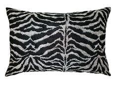DISTINCTLY HOME Zebra cushion