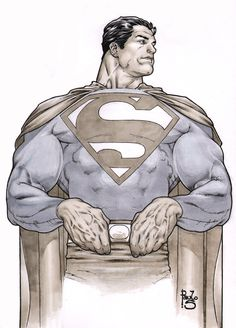 Superman markers by PauloSiqueira.deviantart.com on @deviantART
