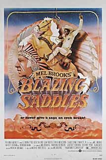 Posteritati: BLAZING SADDLES 1974 U.S. 1 sheet (27x41)