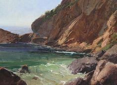 Bill Anton (American) Emerald Bay Calm