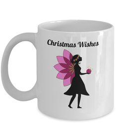 Christmas Wishes Mug Gift Mugs, Gifts In A Mug, Christmas Wishes, Xmas, Novelty Gifts, Tableware, Prints, Design, Dinnerware