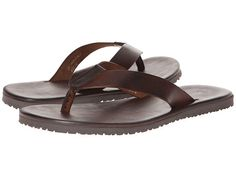 8ee9b94a4336 Massimo Matteo M5524 Leather Thong Sandal Leather Flip Flops