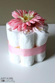 Diaper centerpiece