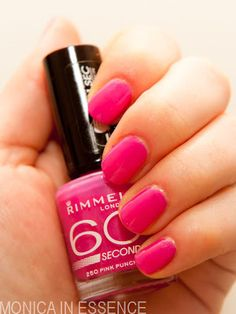 Rimmel 60 seconds, 250 Pink Punch