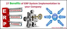An ERP is an information system able to centralize and unify data from different business departments facilitating the flow of information. Both managers and middle managers, they will have unified real-time information that will facilitate the process of decision making.