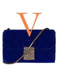 Fall Fashion Trends A to Z: velvet crossbody bag