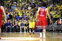Bobby Dixon, #35 of Fenerbahce Istanbul in action during the Turkish Airlines Euroleague Basketball Final Four Berlin 2016 Championship game between Fenerbahce Istanbul v CSKA Moscow in Mercedes Benz Arena on May 15, 2016 in Berlin, Germany.