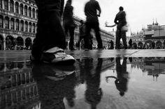 #kid #Foot #sanmarco #venice #venezia #blackandwhite #bwphotography #italy #italia Bw Photography, Venice, Kid, Explore, Character, Italia, Child, Venice Italy, Kids
